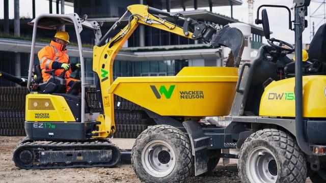 E-Maschinen von Wacker Neuson
